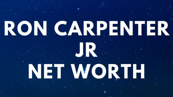 Ron Carpenter Jr - Net Worth, Bio, Wife, Quotes, Book age