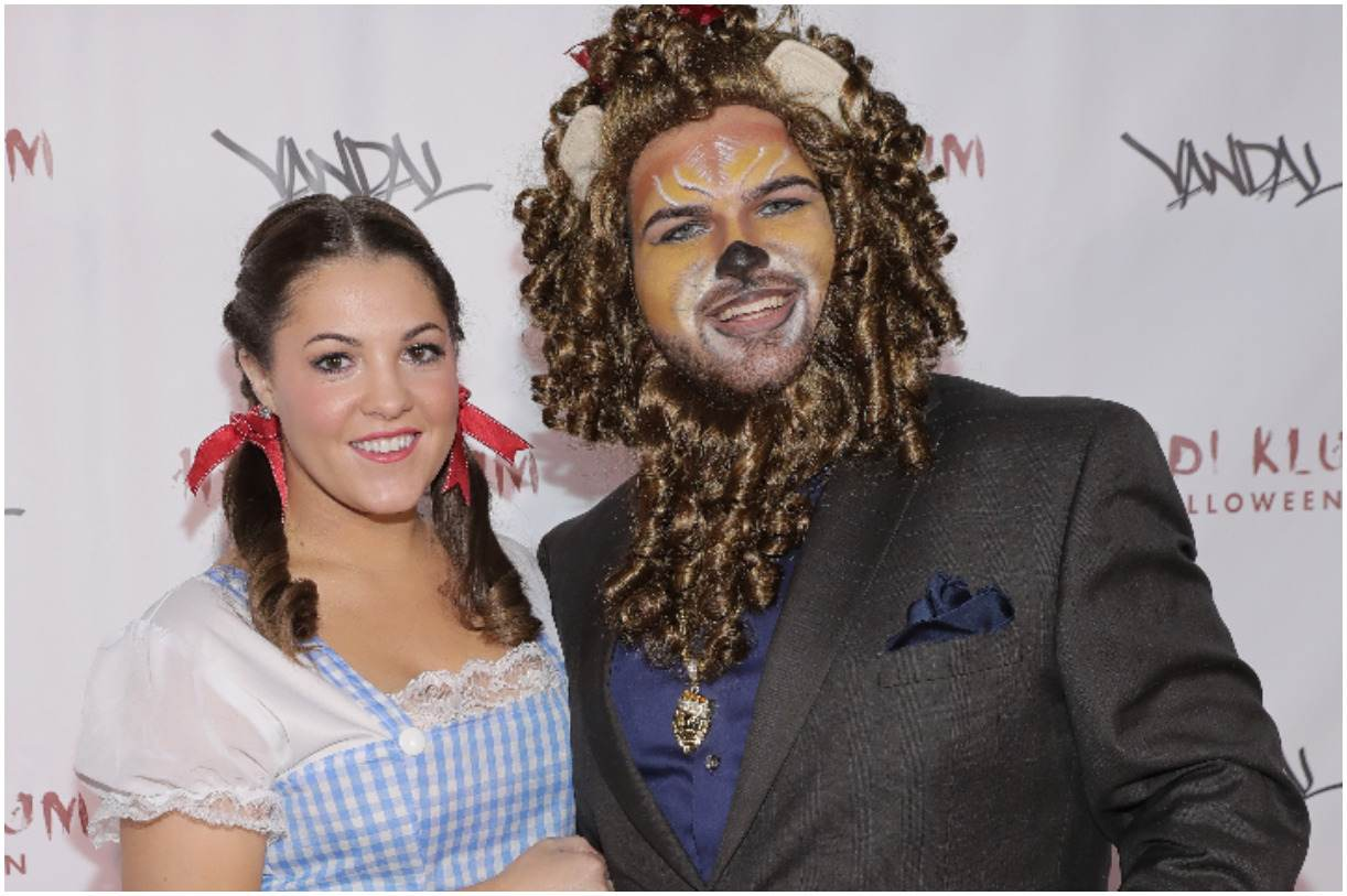 Sal Valentinetti with his girlfriend Allie Cornachio