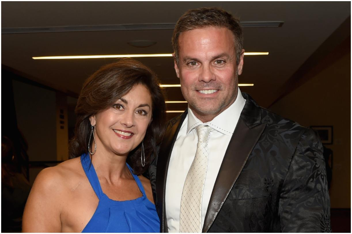 Troy Gentry and his wife Angie McClure