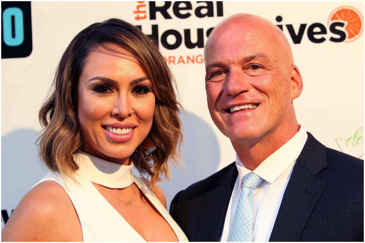 Kelly Dodd and her ex-husband Michael Dodd