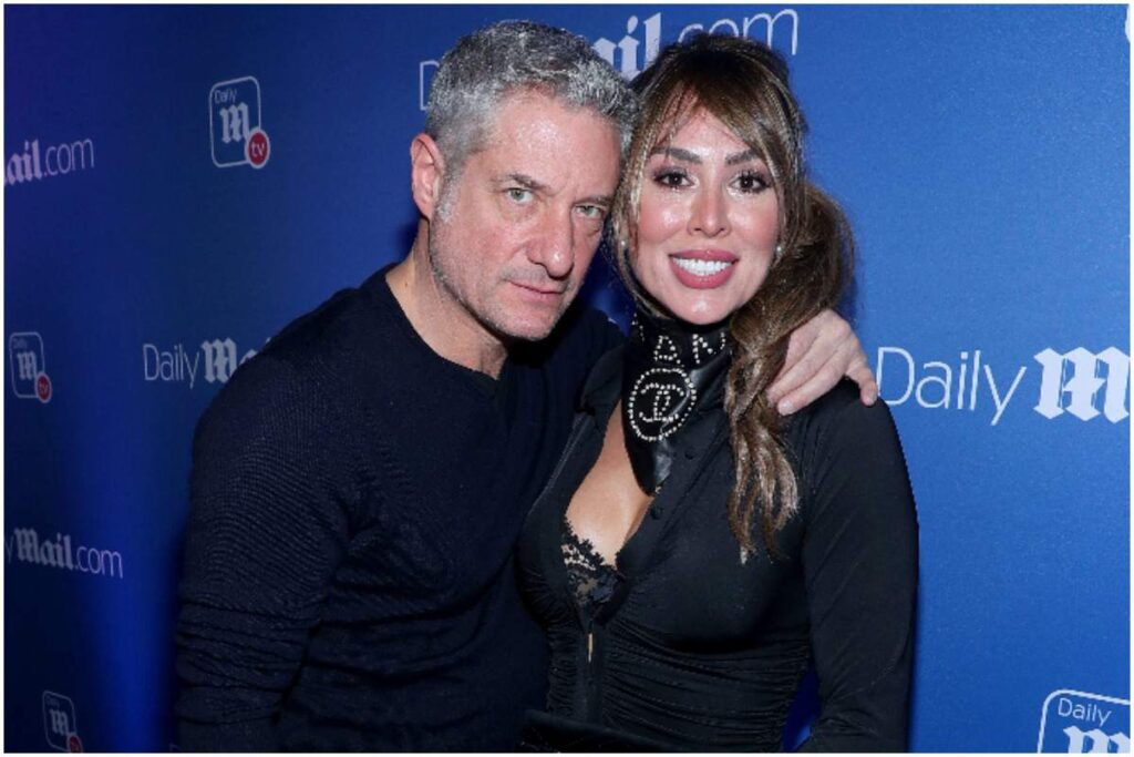 Kelly Dodd and her fiance Rick Leventhal
