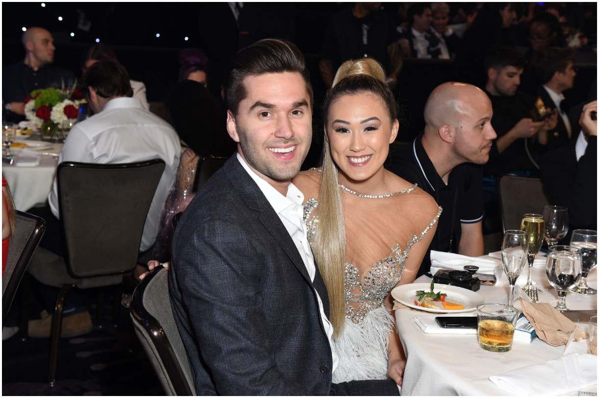 Lauren Riihimaki with her boyfriend Jeremy Lewis