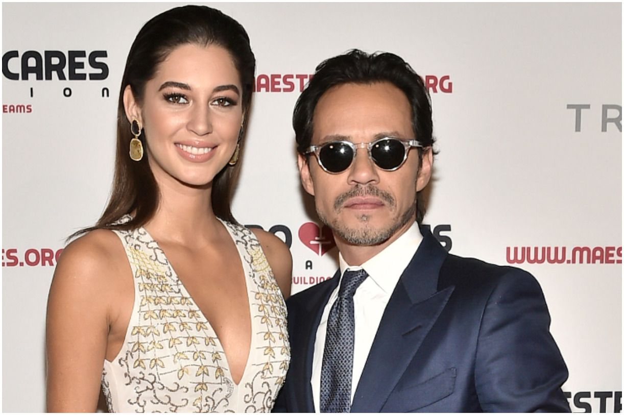 Marc Anthony and his girlfriend Mariana Downing