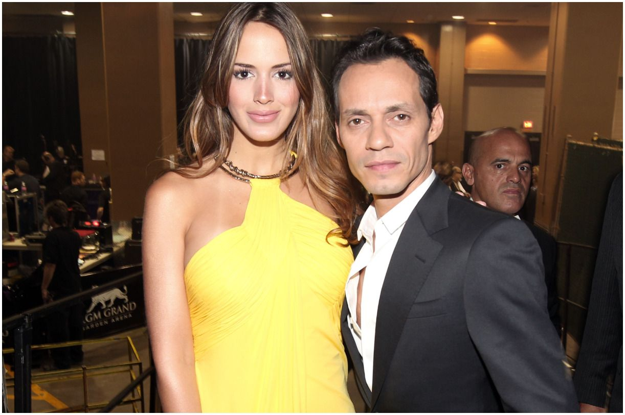 Marc Anthony with his wife Shannon de Lima