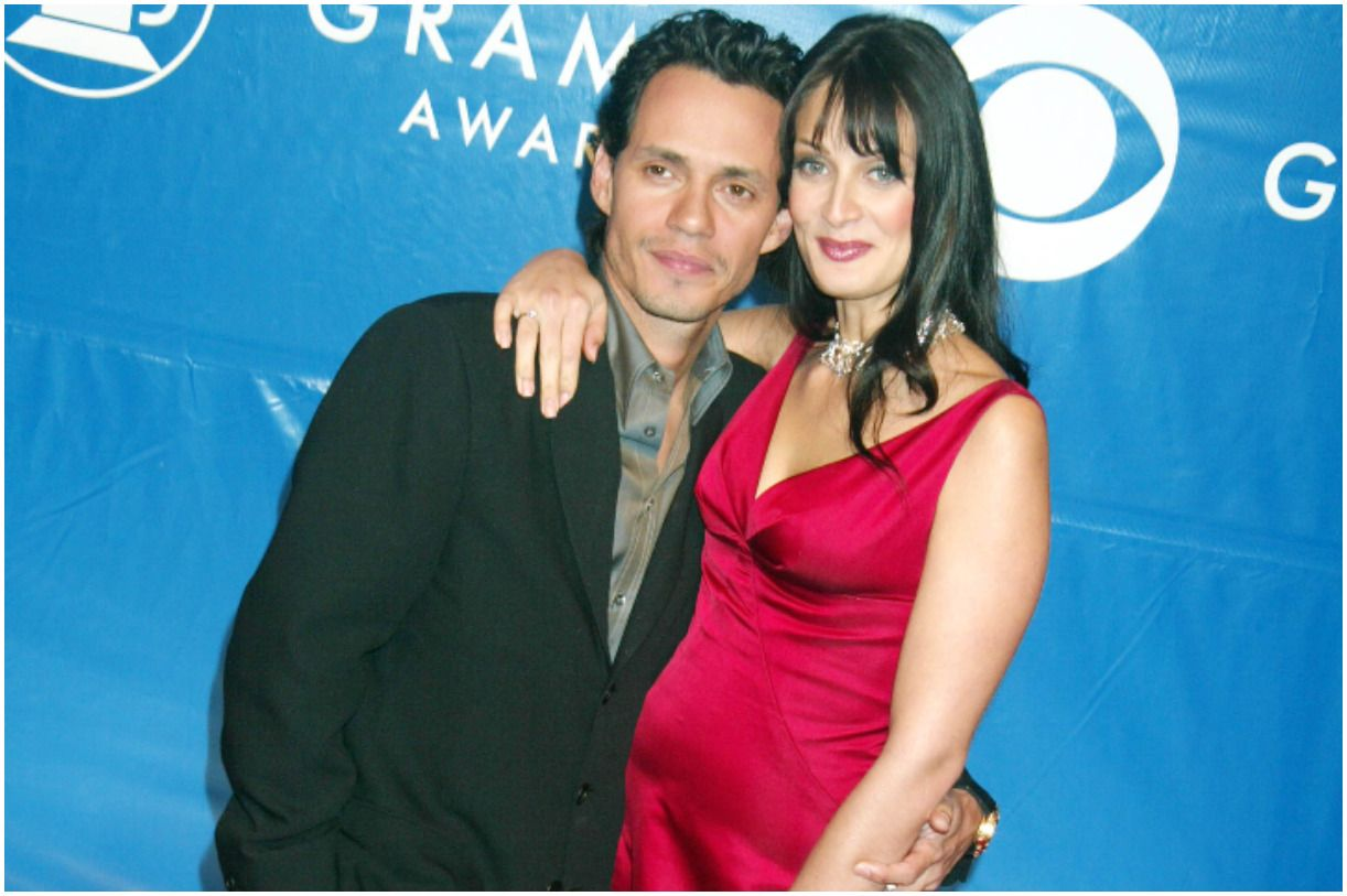 singer Marc Anthony and his wife Dayanara Torres