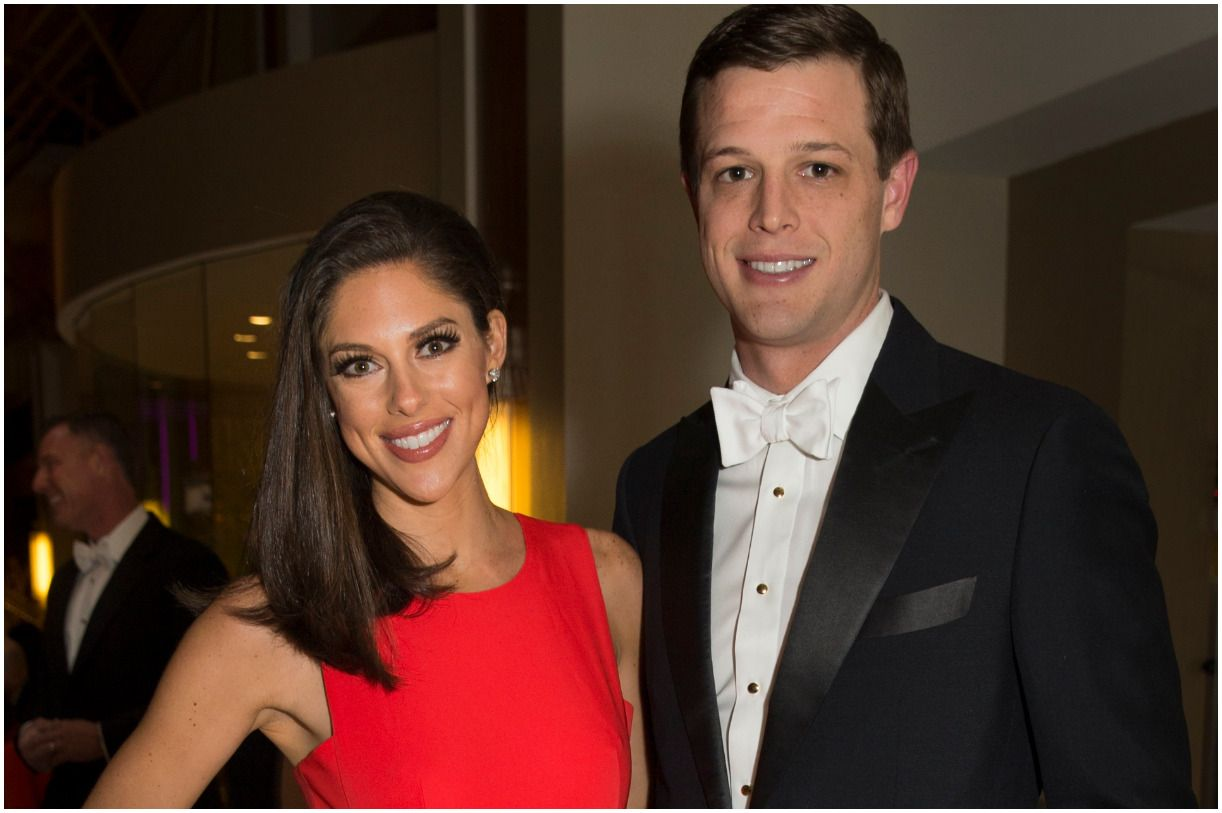 Abby Huntsman with her husband Jeffrey Bruce Livingston