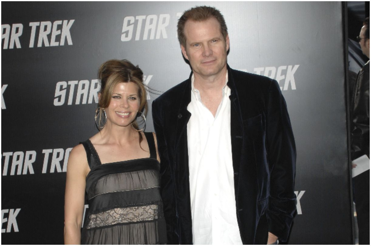Beth Toussaint and her husband Jack Coleman