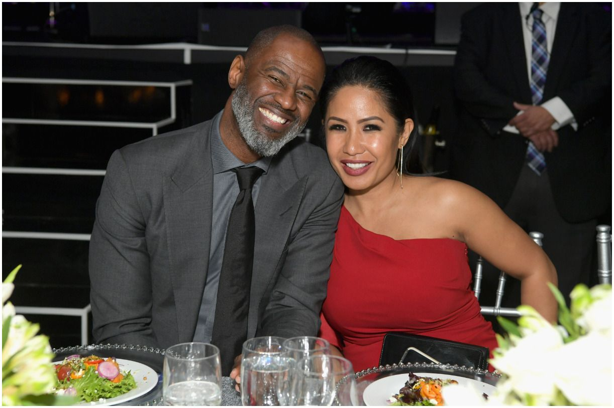 Brian McKnight and his girlfriend Leilani Malia Mendoza