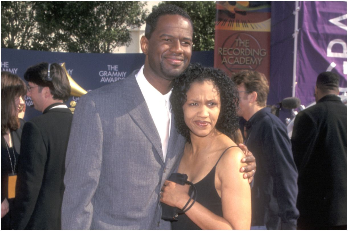 Brian McKnight with his wife Julie McKnight