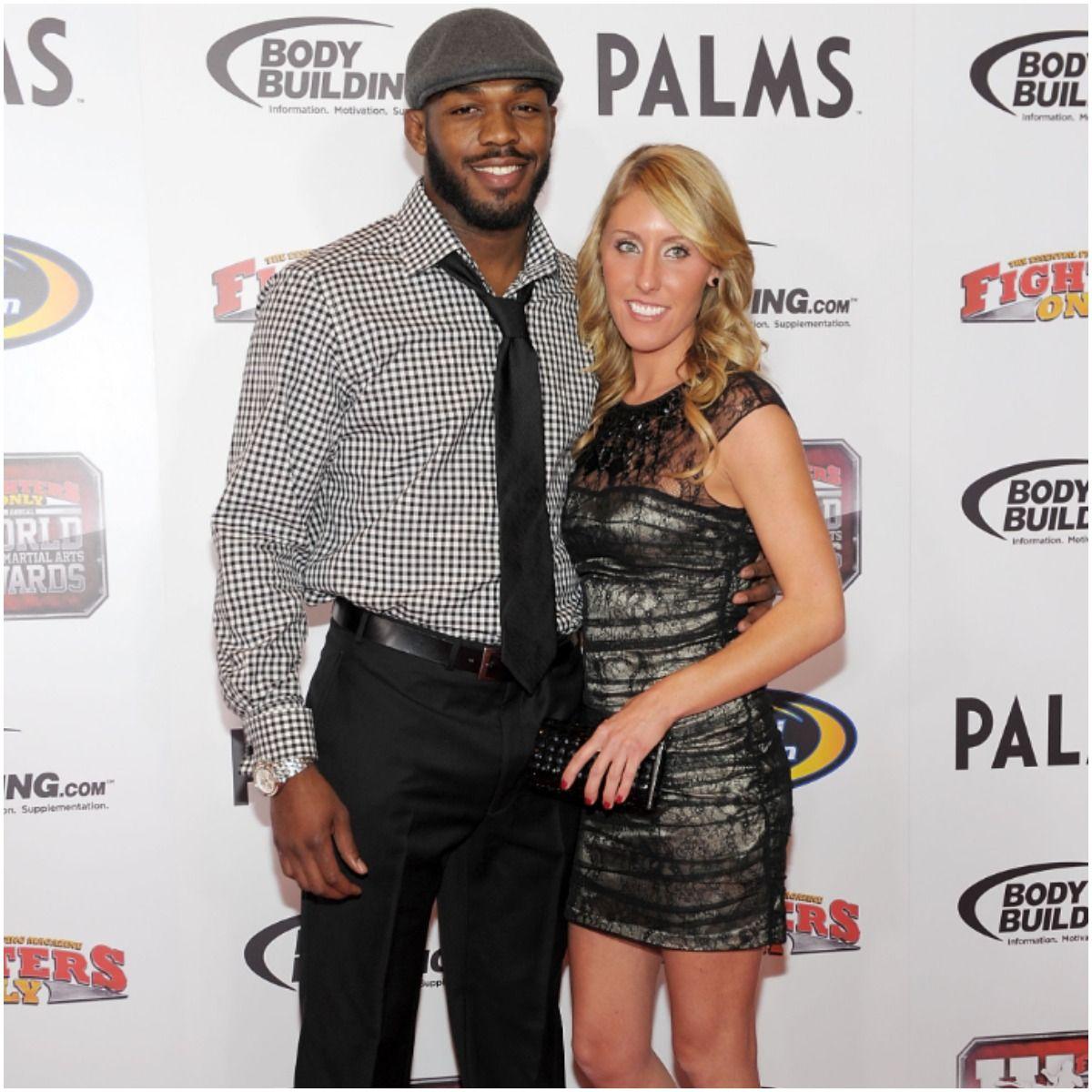 Jessie Moses and her husband Jon Jones