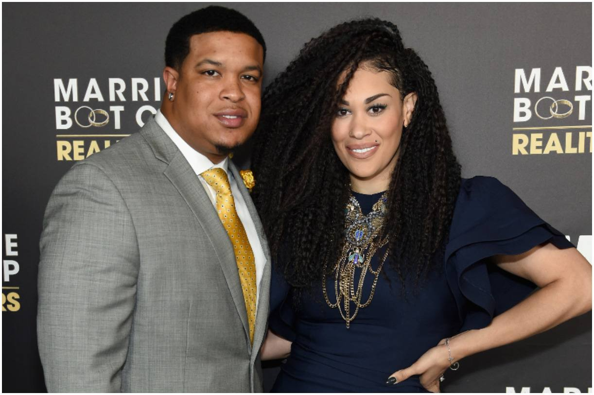Keke Wyatt and her husband Michael Ford