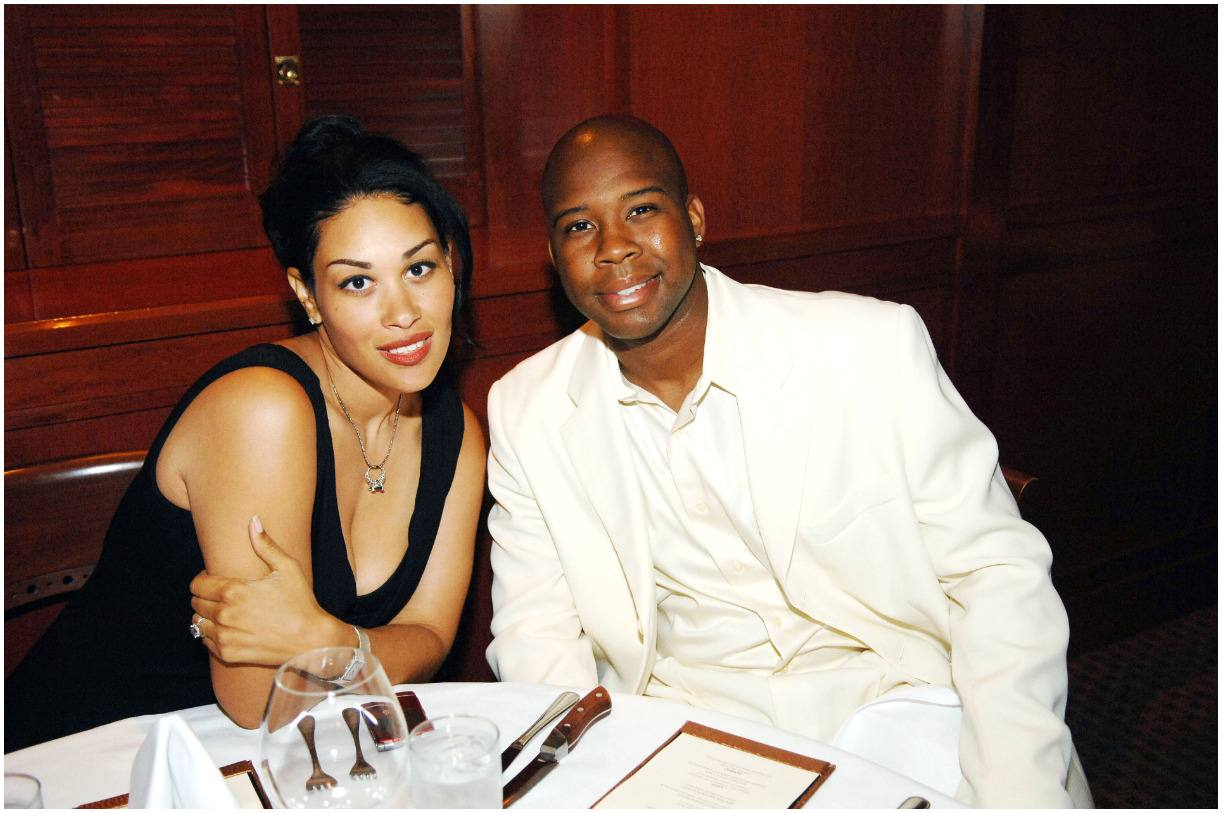 Keke Wyatt with her first husband Rahmat Morton
