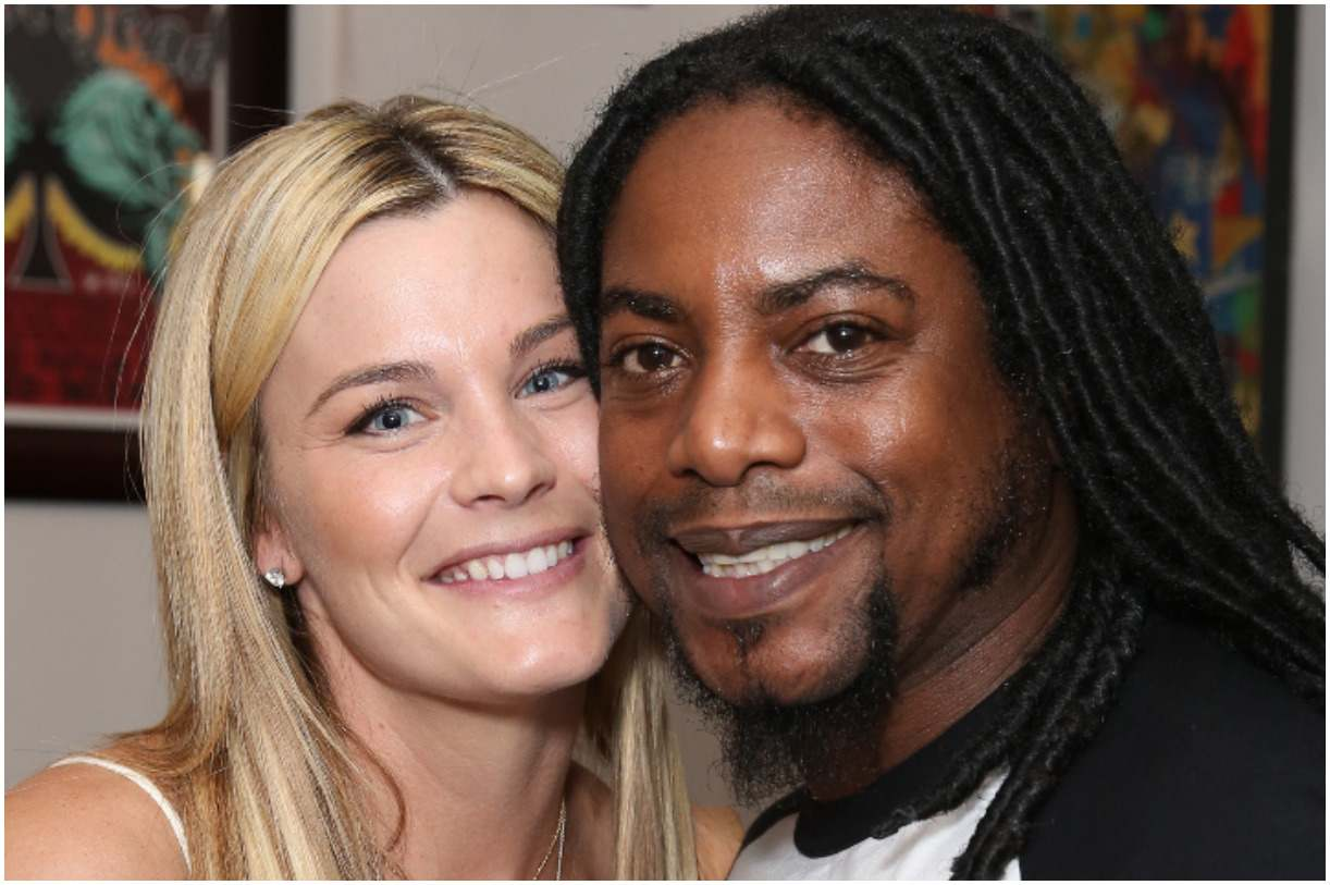 Lajon Witherspoon with his wife Ashley Witherspoon