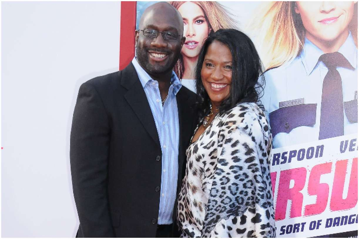 Richard T. Jones with his wife Nancy Jones