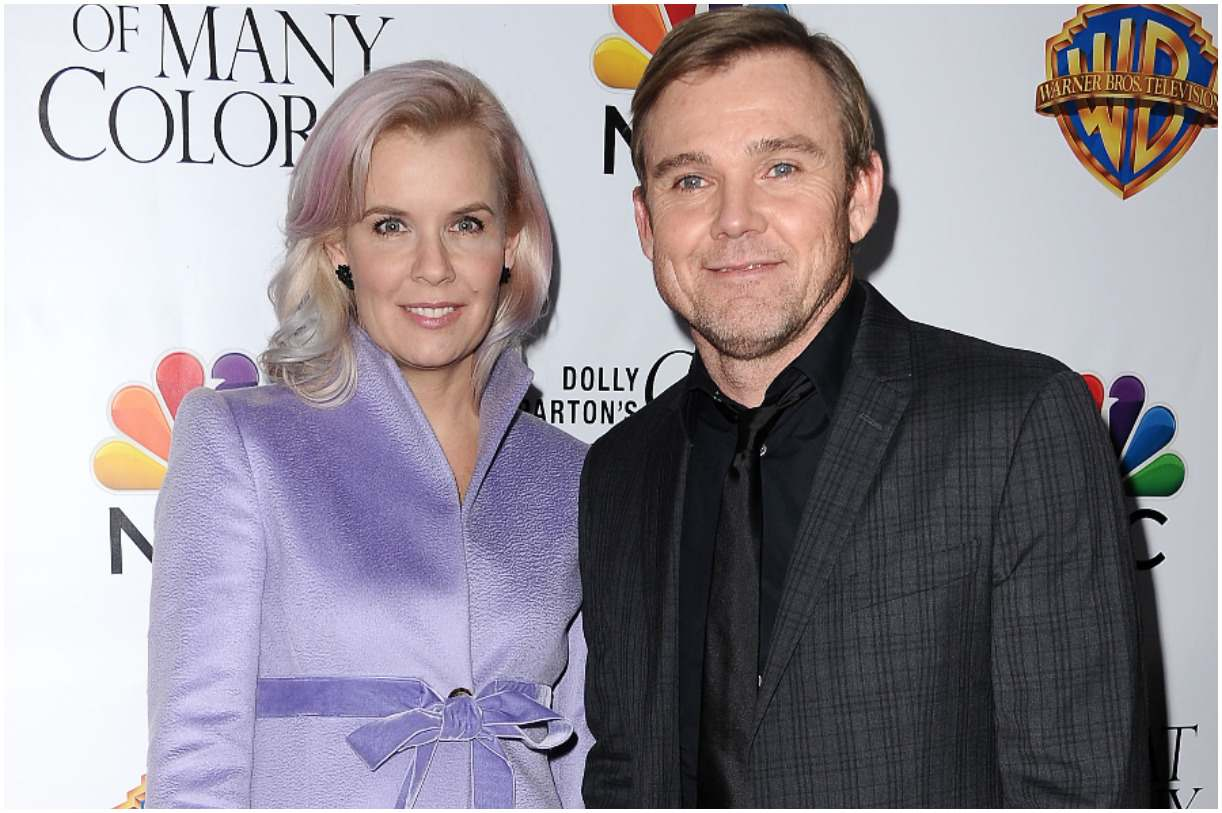 Ricky Schroder and his wife Andrea Bernard