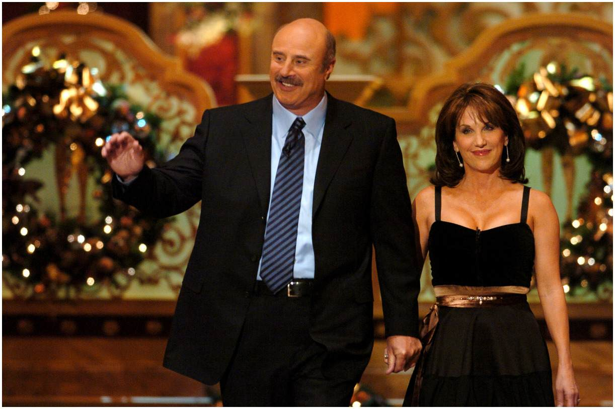 Robin McGraw and her husband Phil McGraw