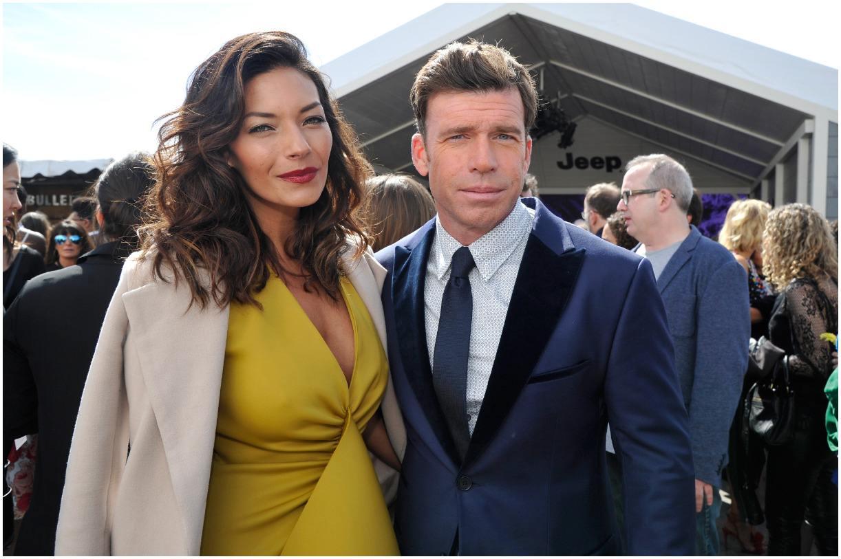 Taylor Sheridan and his wife Nicole Muirbrook