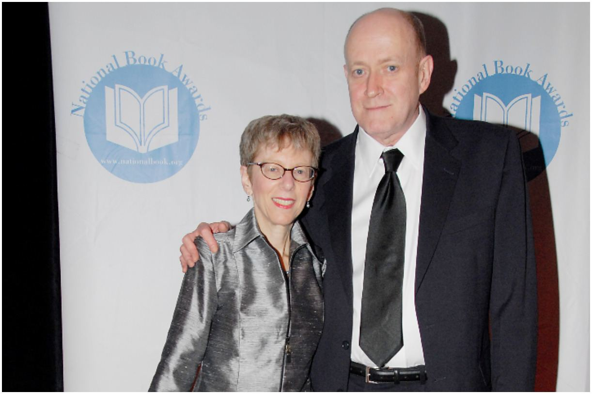 Terry Gross and her husband Francis Davis
