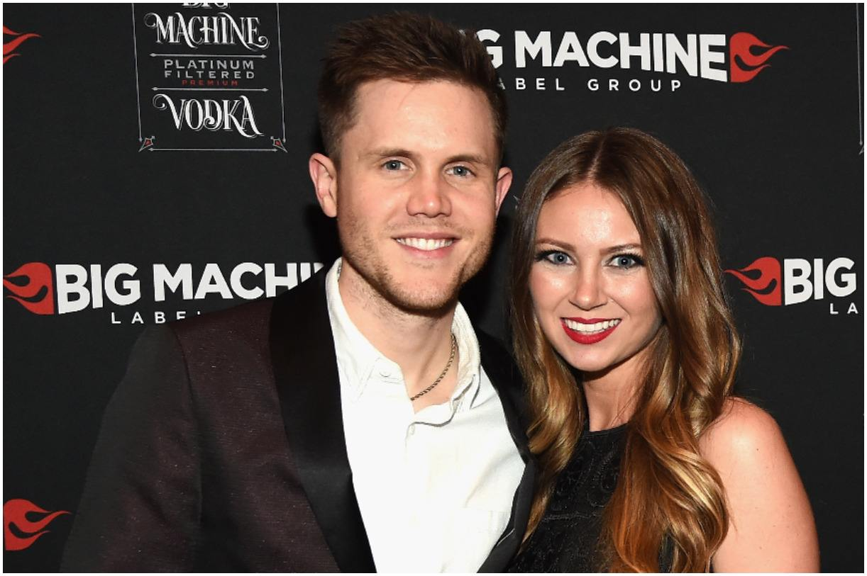 Trent Harmon and his wife Kathleen Couch
