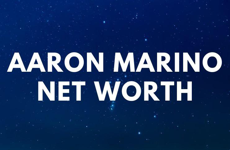 Aaron Marino – Net Worth, Biography, Wife, Gay age