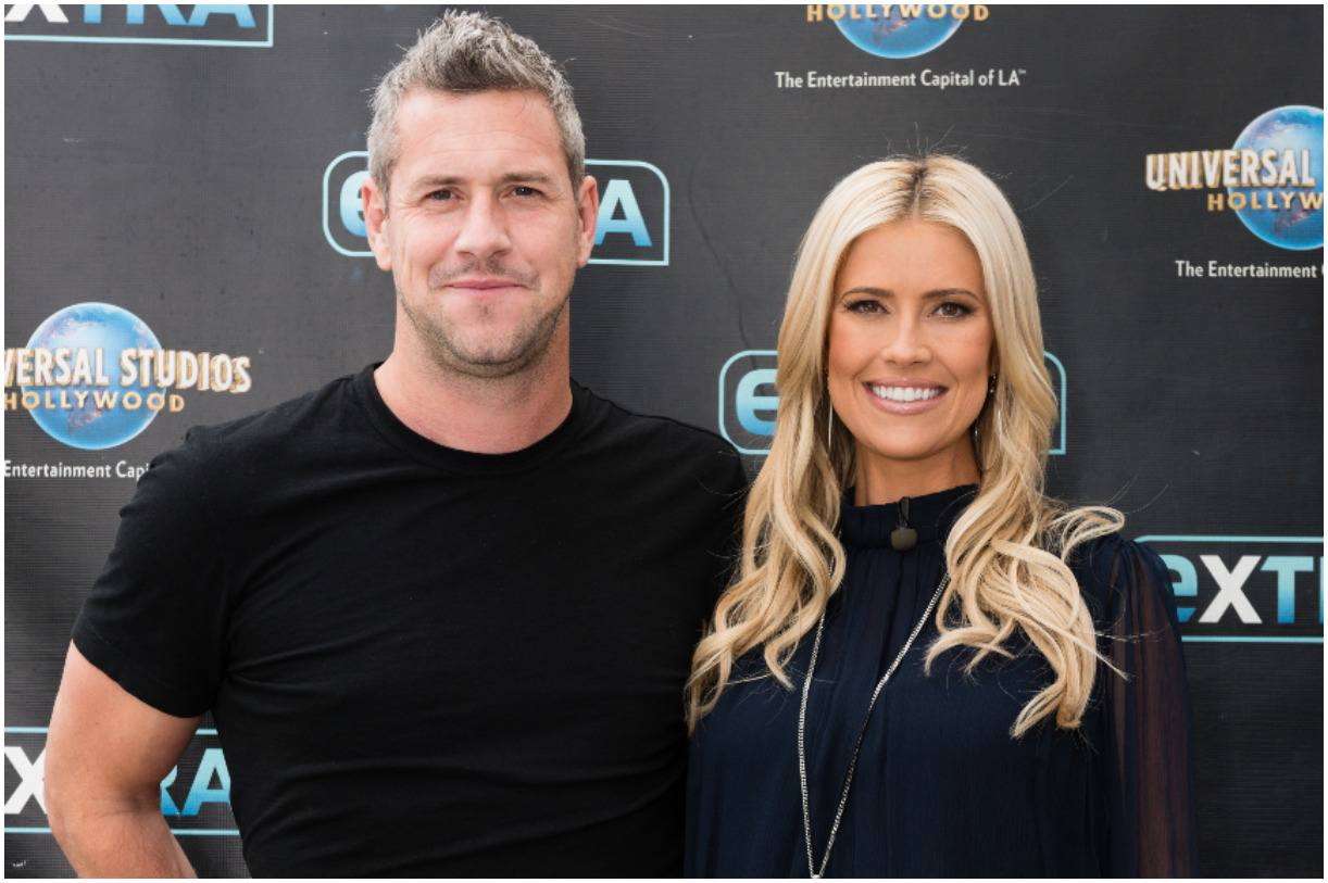 Ant Anstead with his wife Christina El Moussa