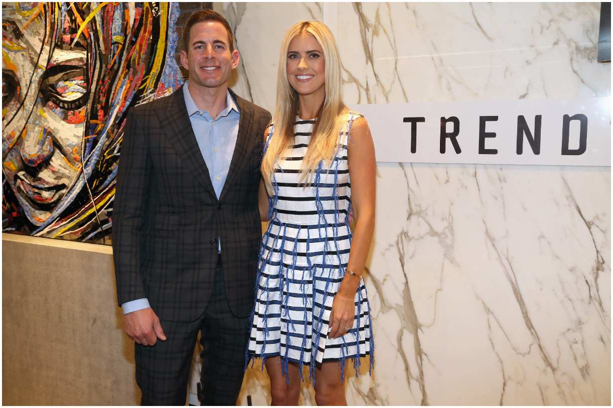 Christina Anstead and her husband Tarek El Moussa