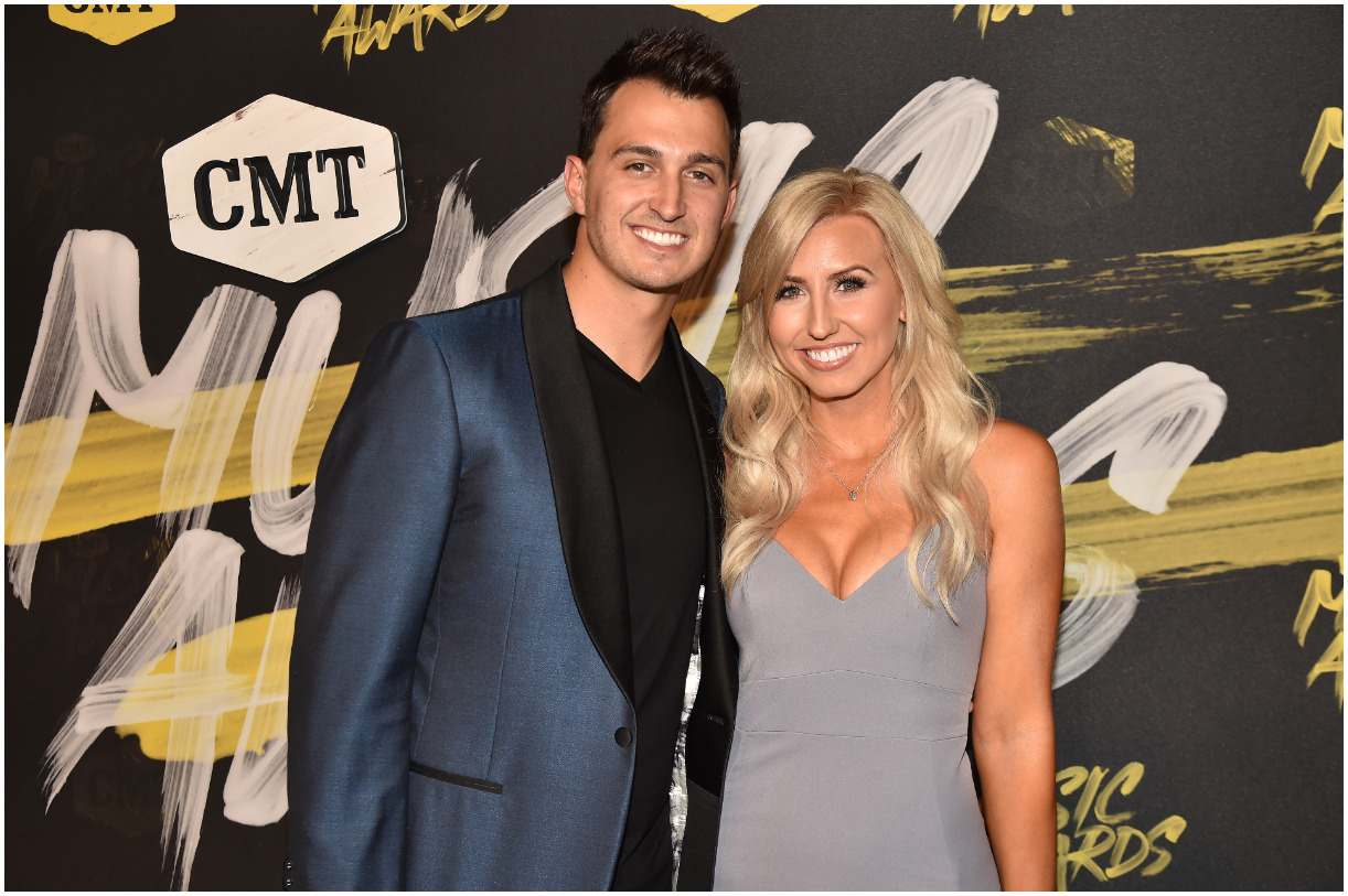 Courtney Force with her husband Graham Rahal