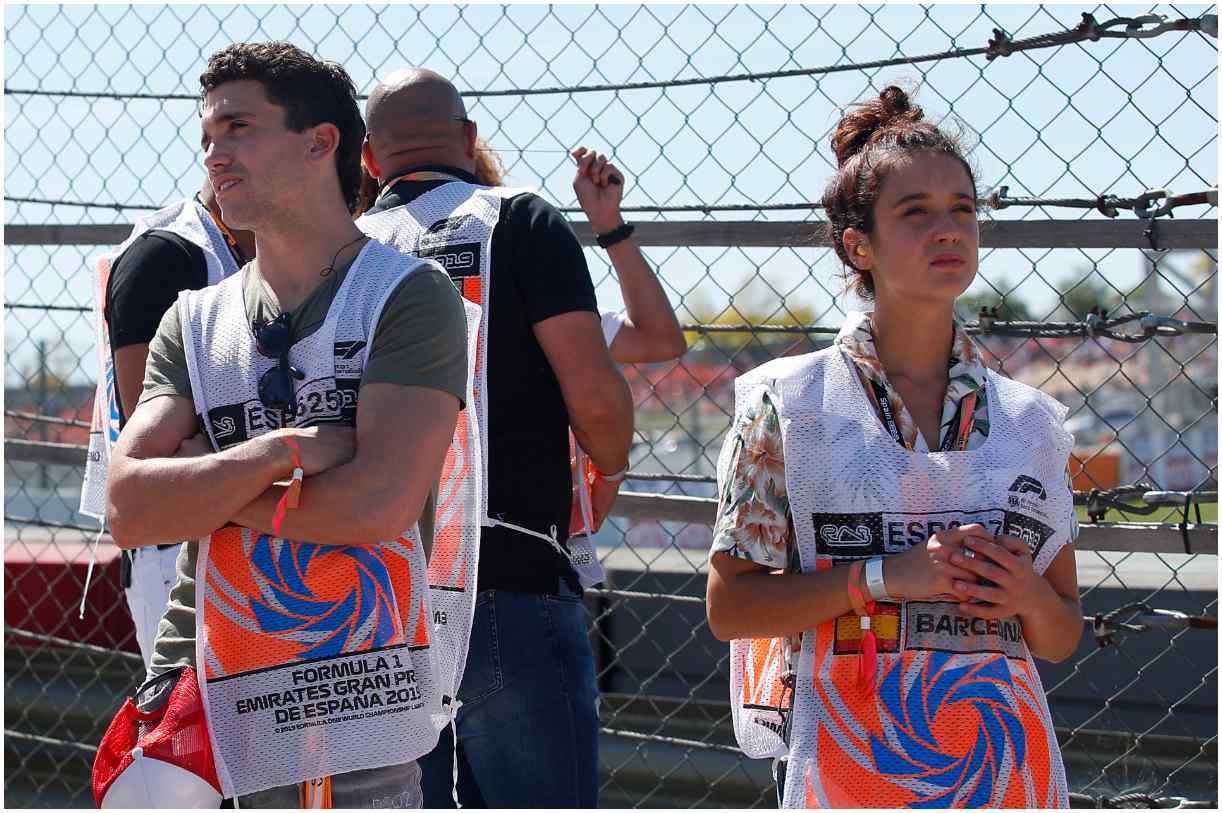 Maria Pedraza with her boyfriend Jaime Lorente