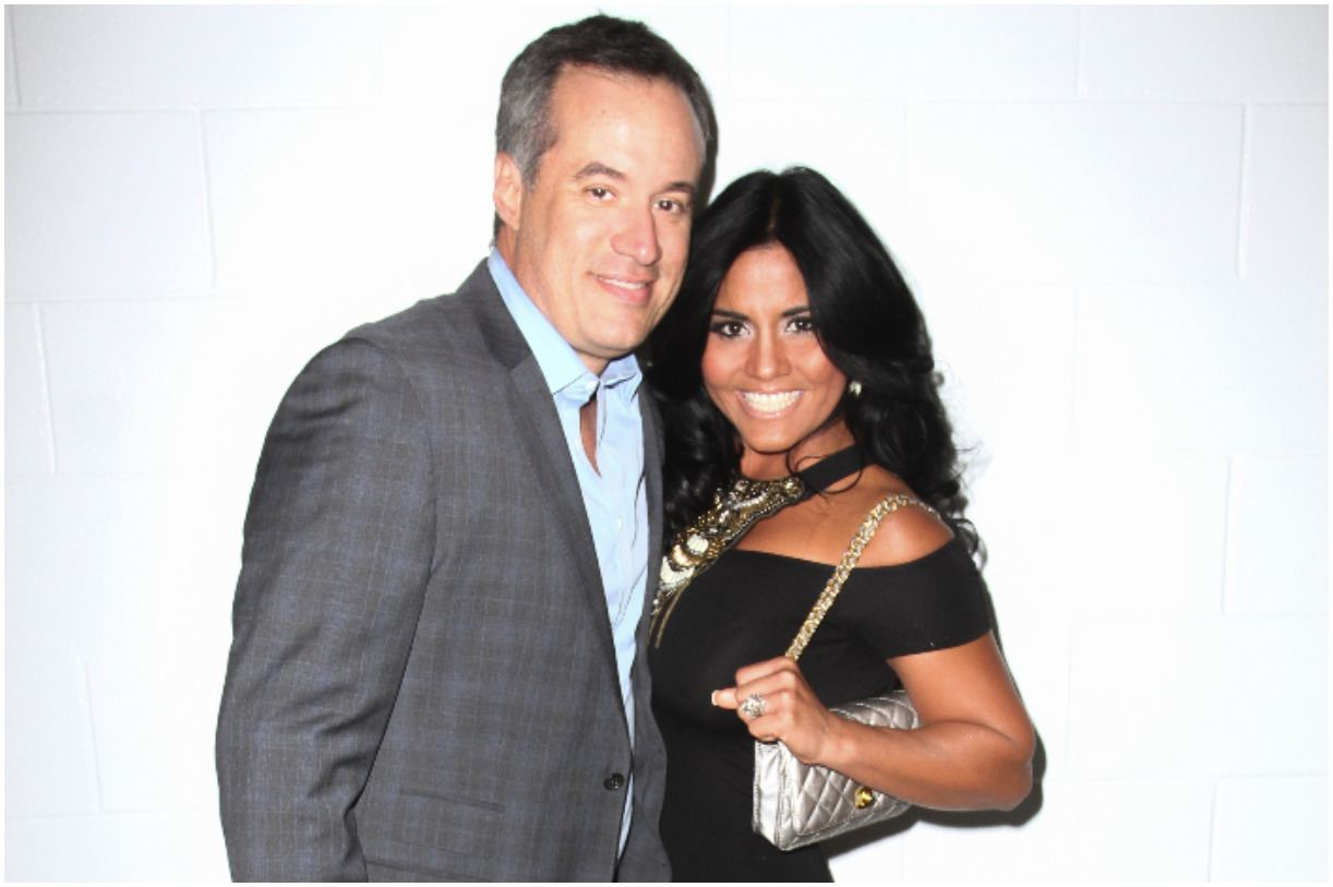 Maripily Rivera with her fiance Alberto Rodriguez