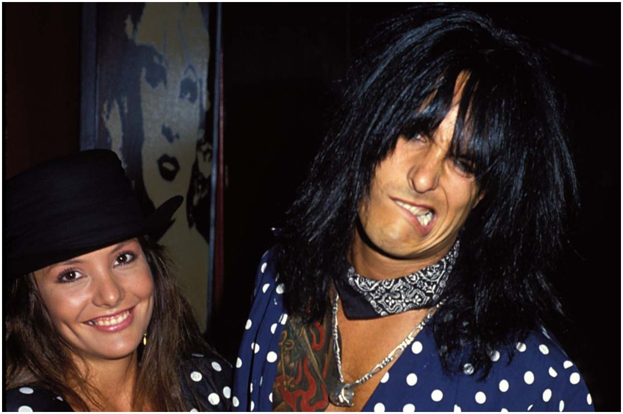 Nikki Sixx and his wife Brandi Brandt