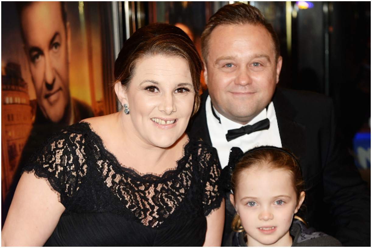 Sam Bailey with her husband Craig Pearson