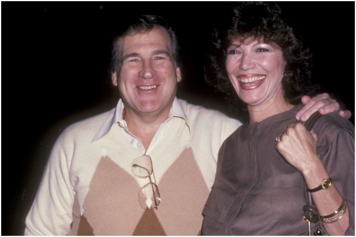Shecky Greene and his wife Marie Musso