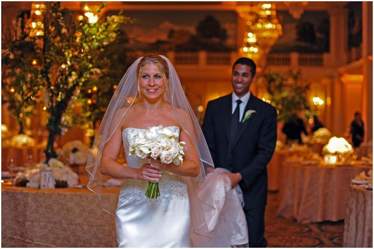 Ajit Pai and his wife Janine Van Lancker