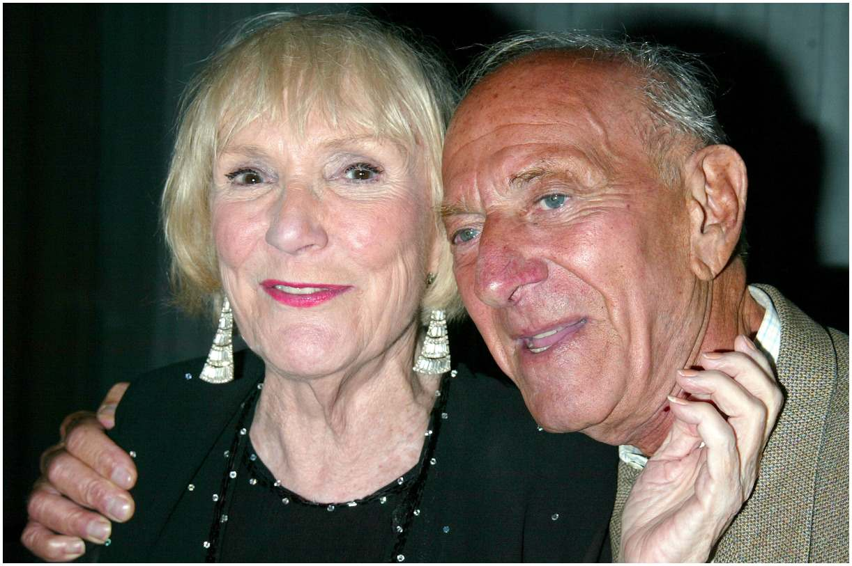 Brett Somers with her husband Jack Klugman