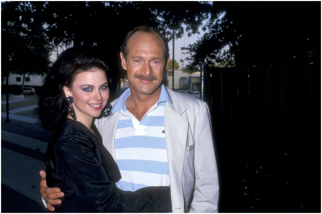 Delta Burke with her husband Gerald McRaney
