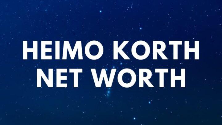 Heimo Korth - Net Worth, Wife (Edna Korth), Daughters, Bioage