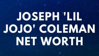 Joseph 'Lil JoJo' Coleman -Net Worth, Biography, Death age