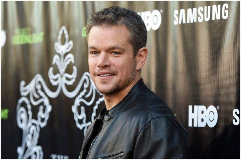 10 Famous People Who Went To Harvard (Matt Damon)