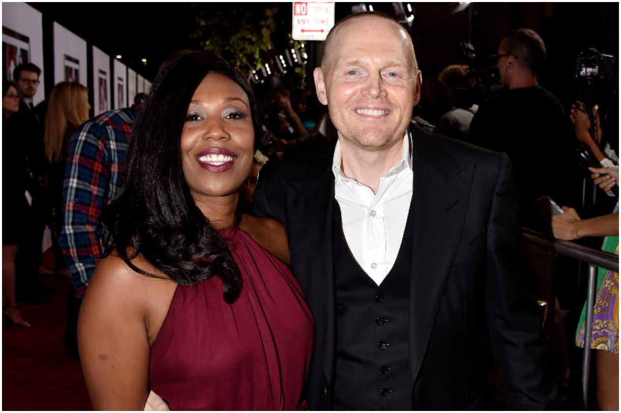 Bill Burr with his wife Nia Hill