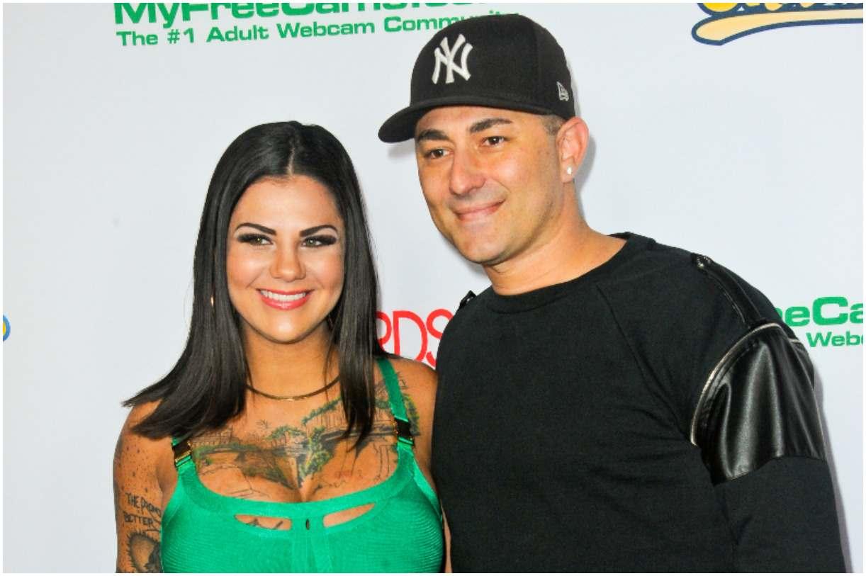 Bonnie Rotten and her husband Dennis DeSantis