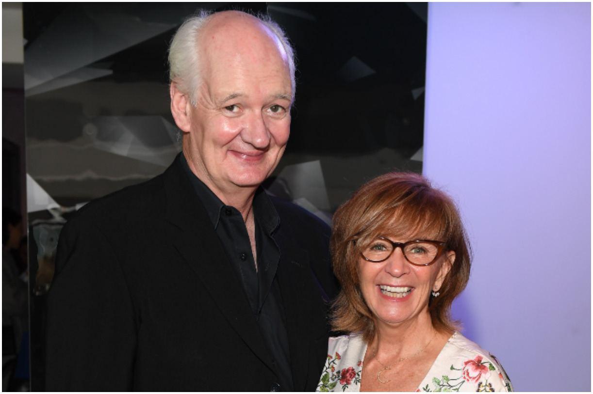 Colin Mochrie and his wife Debra McGrath