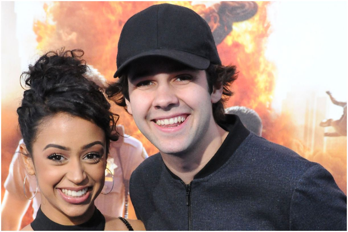 David Dobrik and his girlfriend Liza Koshy