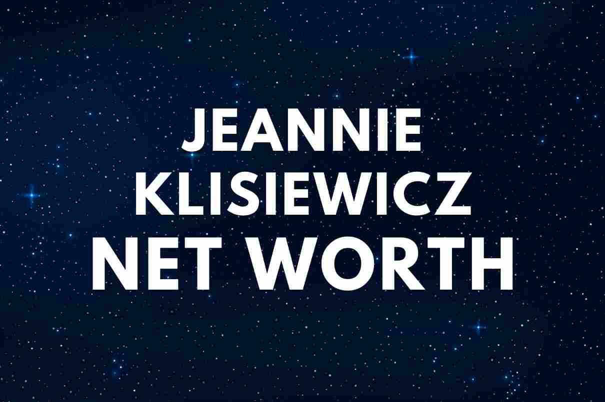 Jeannie Klisiewicz Net Worth