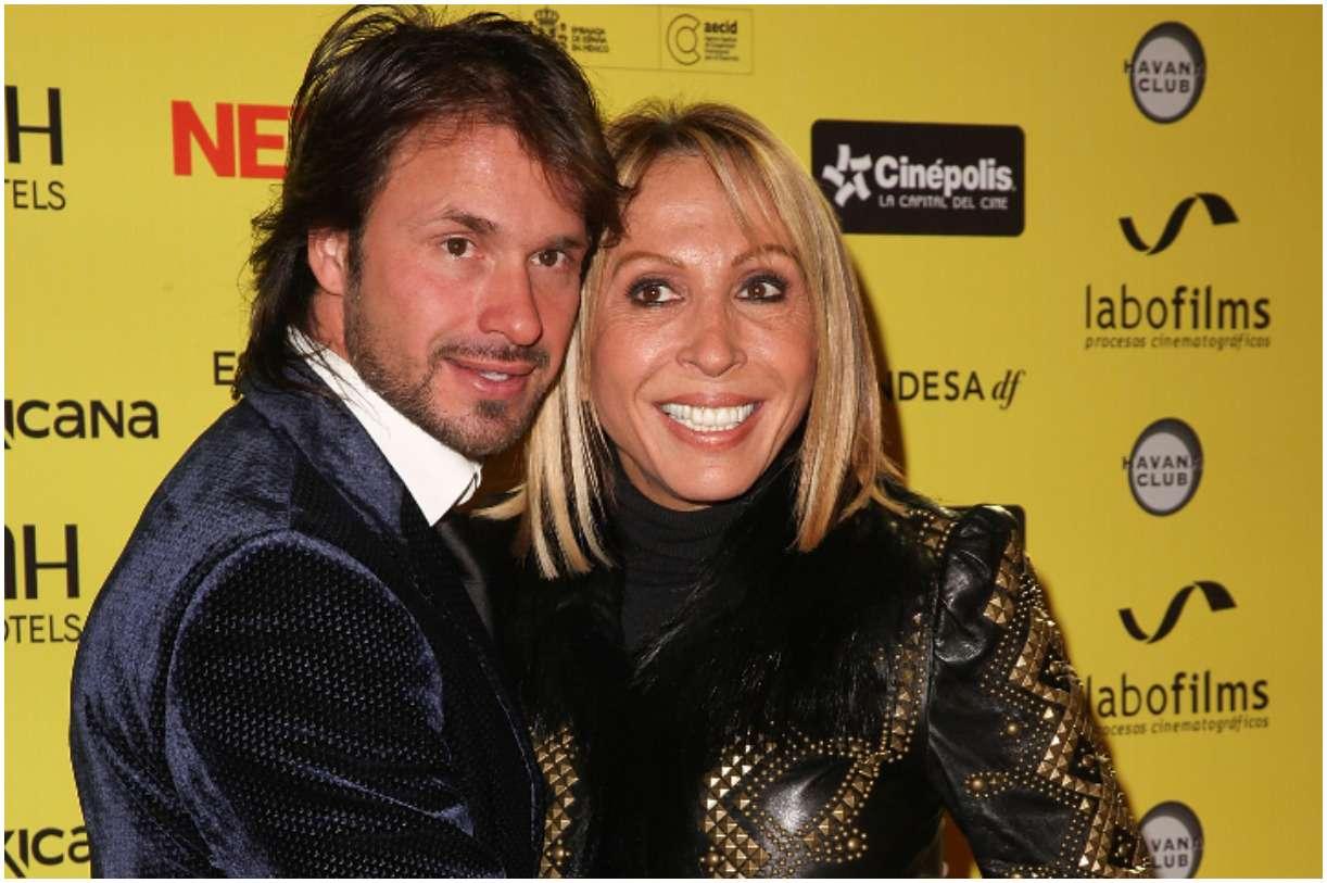 Laura Bozzo with her boyfriend Cristian