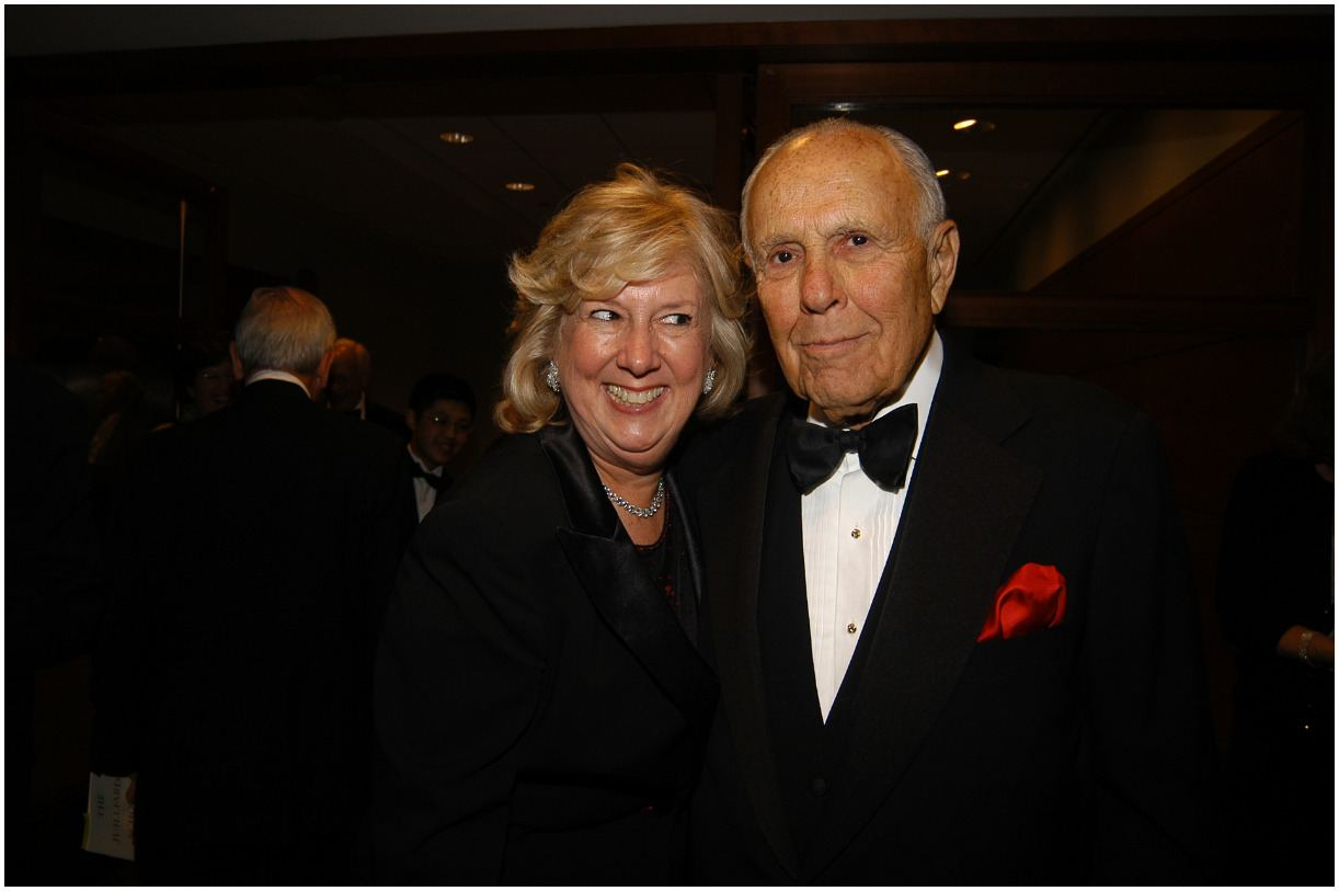 Linda Fairstein with her husband Justin Feldman