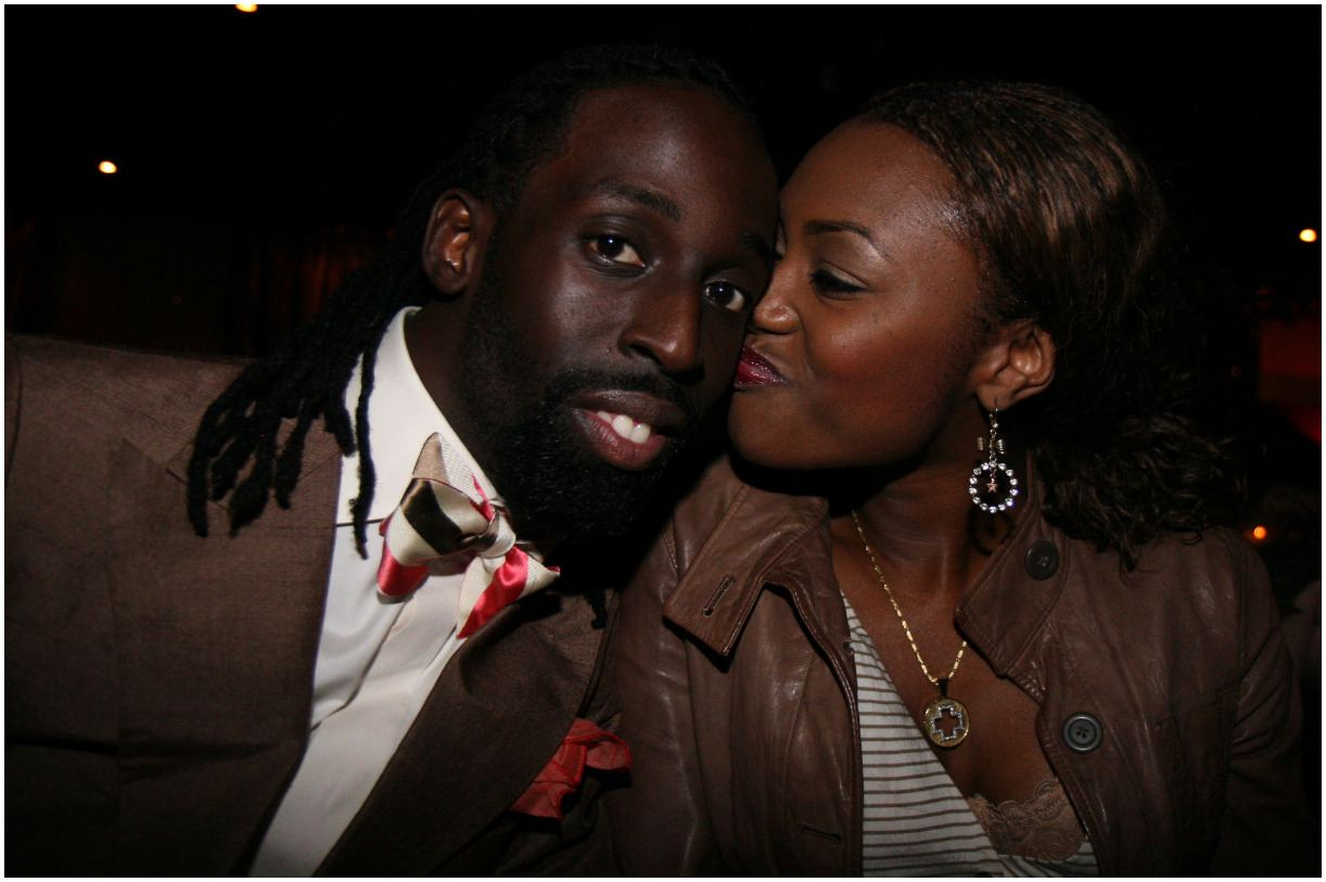 Tye Tribbett with his wife Shanté Tribbett
