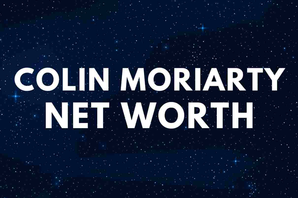 what is the net worth of Colin Moriarty