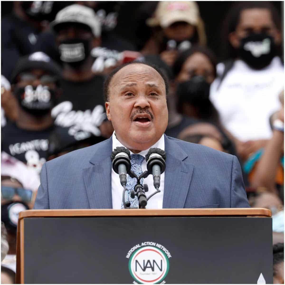 what is the net worth of Martin Luther King III
