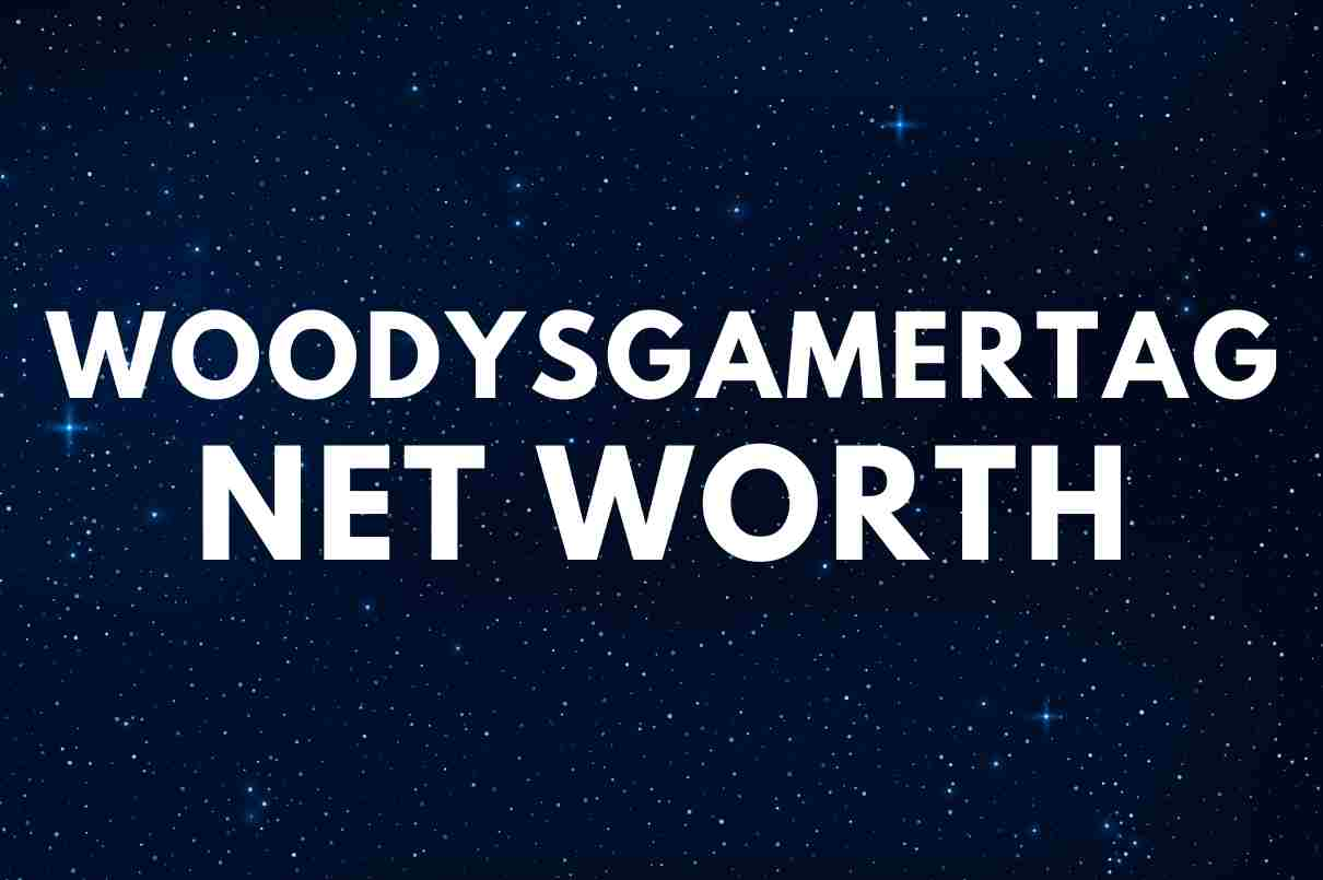 what is the net worth of WoodysGamertag