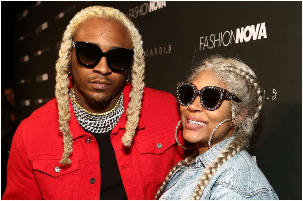A1 Bentley and his wife Lyrica Anderson